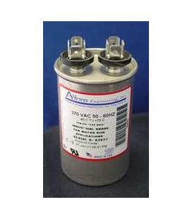 5.0 mFd, 370 Vac, Round Motor-run AC Capacitors