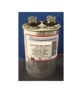 25.0 mFd, 600 Vac, Round Motor-run AC Capacitors