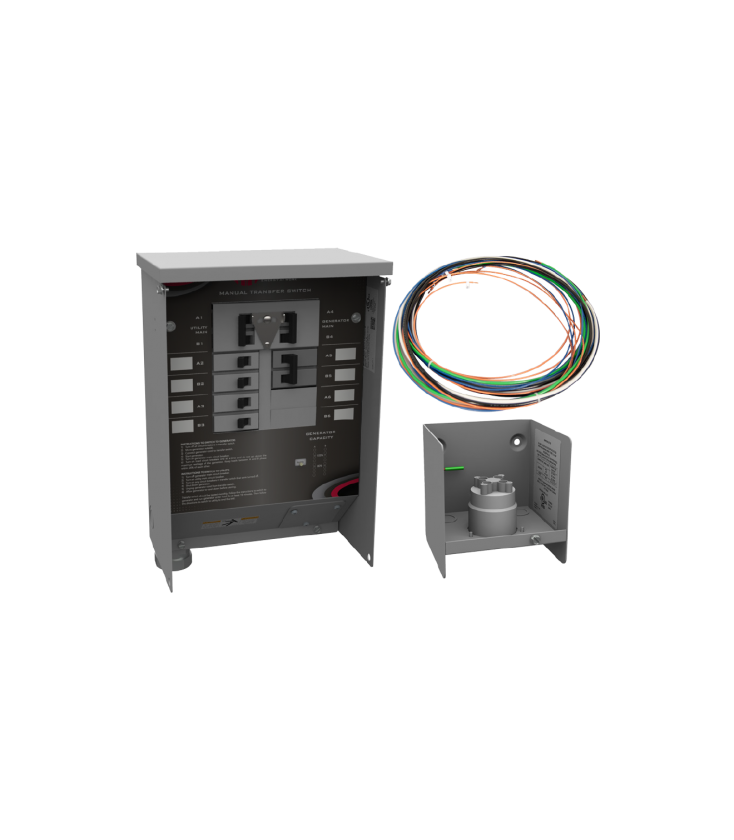 30 A Manual Transfer Switch Learn Function Inlet Box: Ronk Transfer Switch Wiring Diagram At Shintaries.co