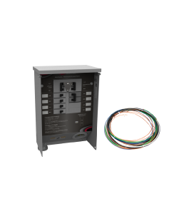 30 A Manual Transfer Switch, Learn Function, Inlet Box, 20 ft. Cord