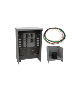 50 A Manual Transfer Switch, Learn Function, Inlet Box